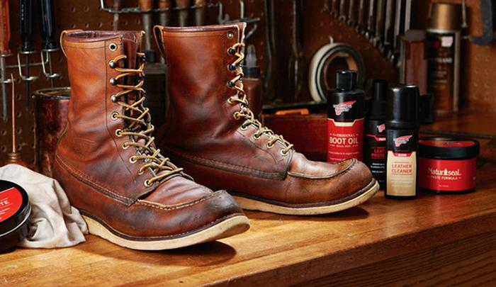 Photography, creative and production for Red Wing Shoes